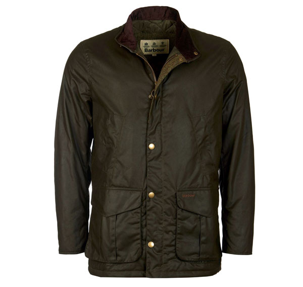 Image of Barbour Hereford Wax Jacket Olive 3XL