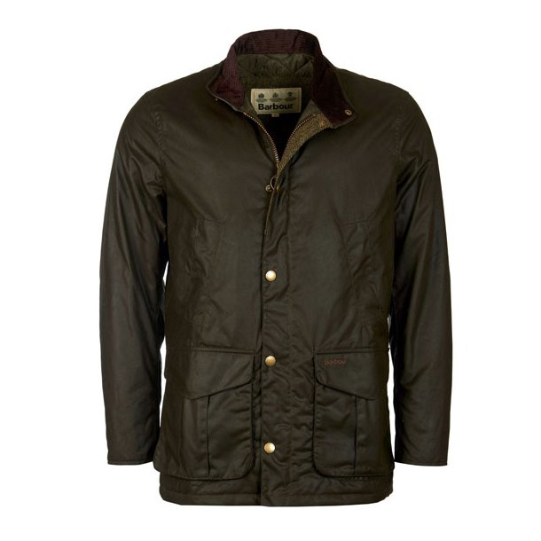 Barbour Hereford Wax Jacket Olive Overt 248 J Www