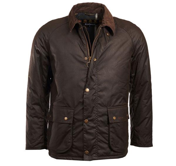 Image of Barbour Strathyre Wax Jacket Olive L