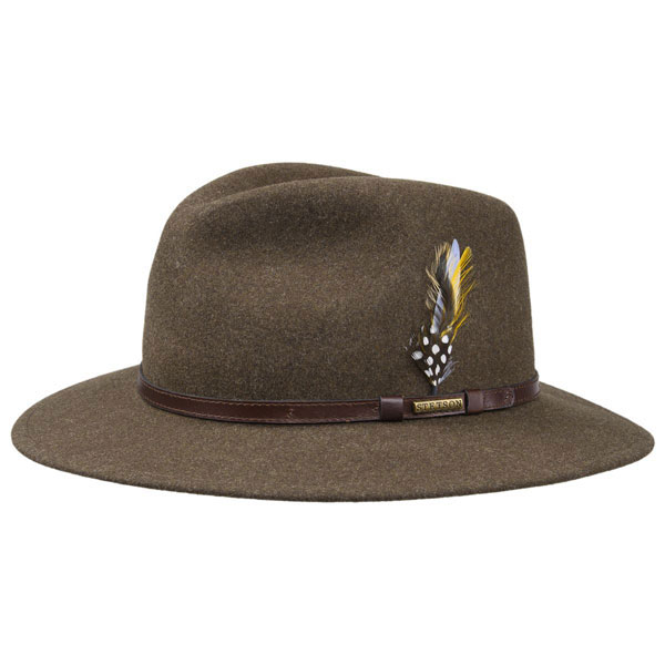 Stetson Traveller VitaFelt Brown XS thumbnail