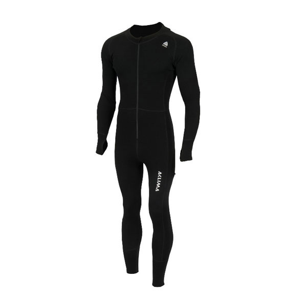 Image of   Aclima Warmwool Overall Jet Black L
