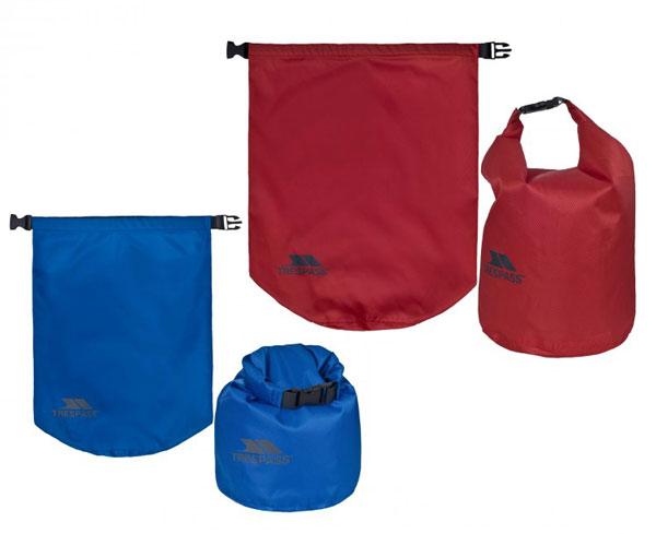 Image of Trespass Euphoria Dry Bag Set 2 Pack 10L og 15L
