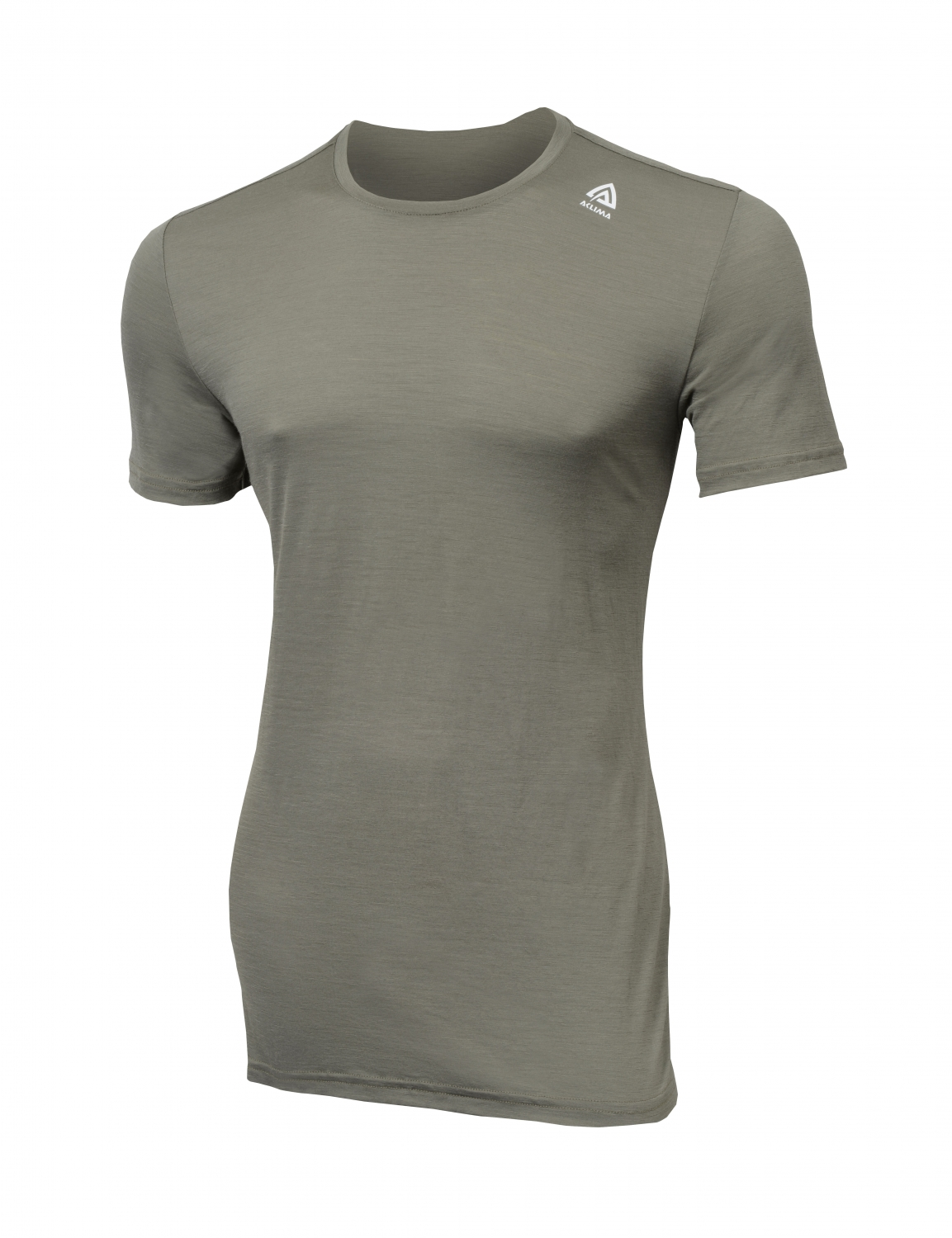 Image of   Aclima Lightwool T-Shirt Ranger Green S
