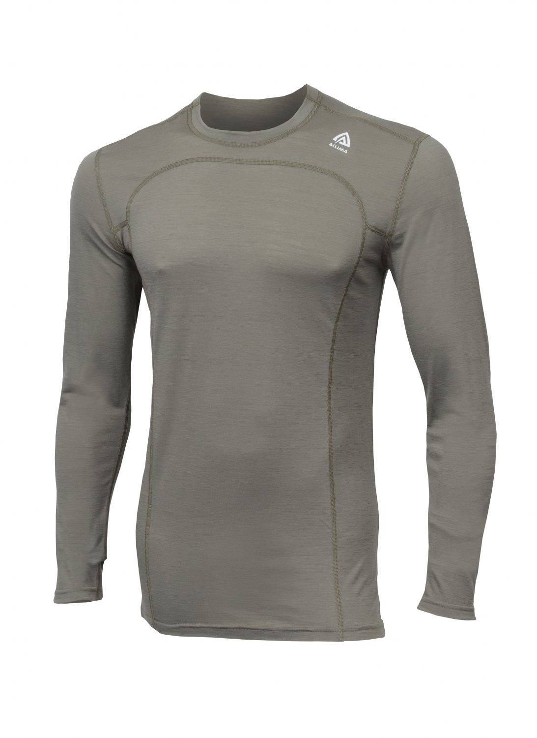 Image of   Aclima LightWool Crew Neck Ranger Green L